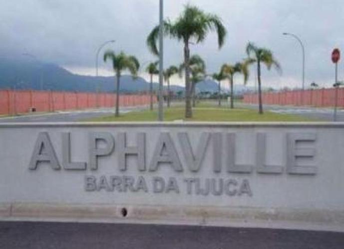 Terreno Barra da Tijuca - Condomínio Alphaville / 600 m²
