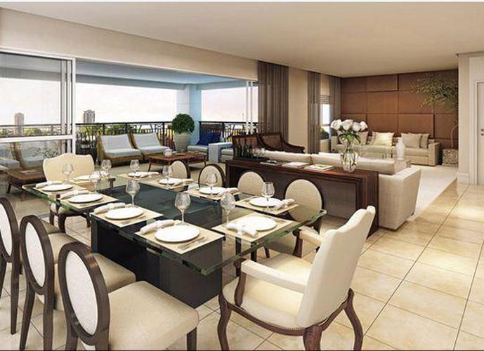 Apartamento em Moema/SP de 306m² 4 quartos a venda por R$ 6.535.948,00
