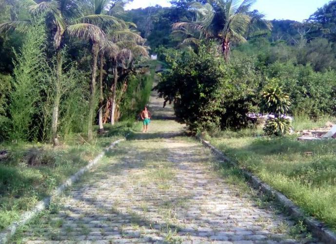 Área no Rio de Janeiro c/ 242.000m2 Edificáveis, c/ Casas 5 Qtos, 1 Igreja, 2 Lagos (2.000m2 e 600m2), 7 ruas Internas calçadas, 3 Nascentes, Frutas,