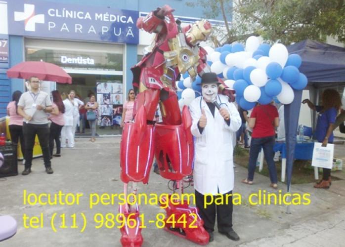 locutor de loja,  clinicas medicas, odontológicas , açougues