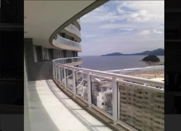 Apartamento em Gonzaga/SP de 96m² 2 quartos para locação R$ 6.200,00/mes