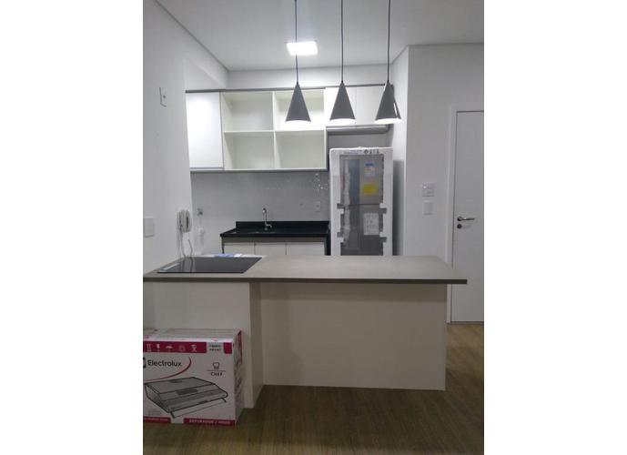 Apartamento em Gonzaga/SP de 54m² 1 quartos para locação R$ 4.000,00/mes