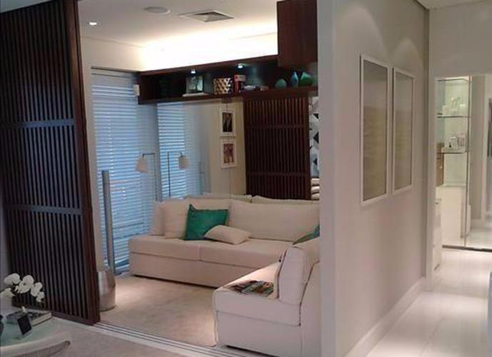 Apartamento em Gonzaga/SP de 58m² 1 quartos para locação R$ 3.500,00/mes