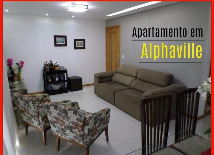 Apartamento para Venda em Salvador, Alphaville, 4 dormitórios, 3 suítes, 4 banheiros, 3 vagas