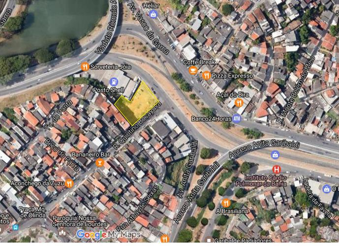 Terreno para Venda em Salvador, Vasco da Gama