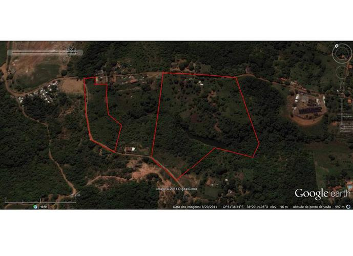 Terreno em Caji/BA de 18000m² a venda por R$ 2.700.000,00