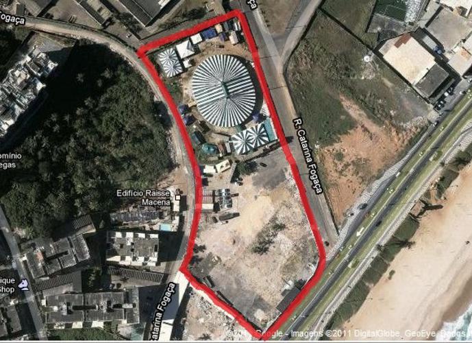 Terreno em Armação/BA de 1520614m² a venda por R$ 38.015.350,00