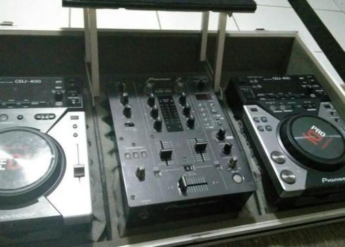 Kit com 2 CDJ 400 + Mixer DJM 400