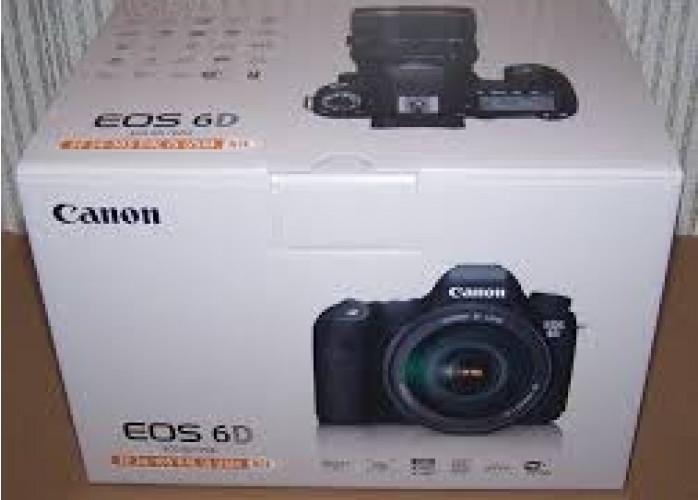 Câmera Canon EOS 6D Completa com lente objetiva 24-105 mm inclusa