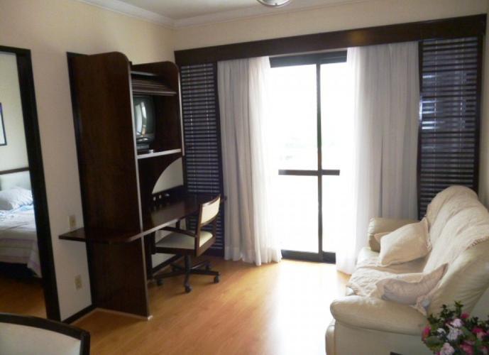 Flat em Indianópolis/SP de 30m² 1 quartos para locação R$ 1.400,00/mes