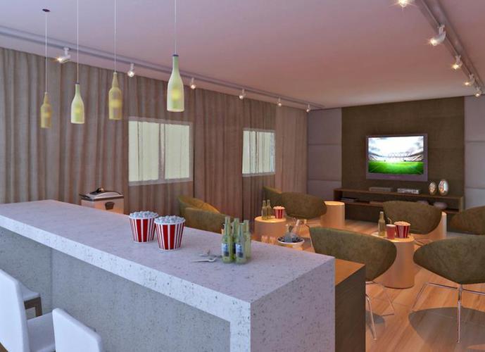Apartamento em Gonzaga/SP de 54m² 2 quartos a venda por R$ 291.000,00