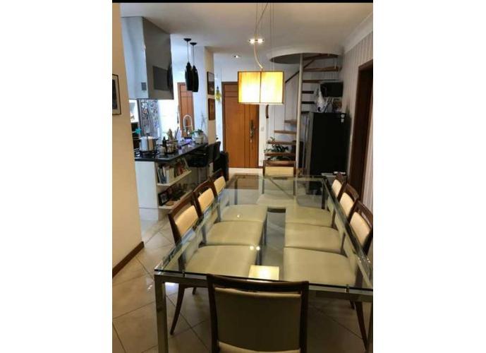 Apartamento Cobertura Duplex - Maracanã 3 qtos com 2 vagas , varanda com churrasqueira, chuveiro, deck, piscina- 140m²