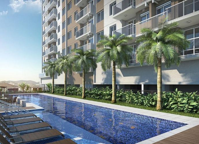 Apartamento Cachambi com 1 quarto com vaga   45m²  - Trend Up Norte