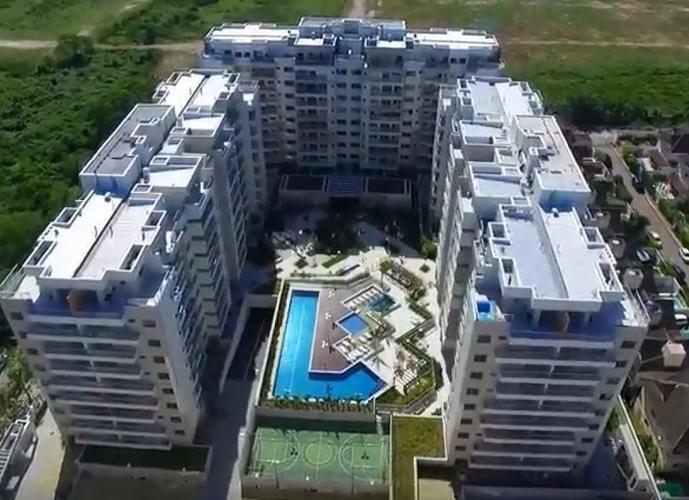 Apartamento em Recreio dos Bandeirantes/RJ de 91m² 3 quartos a venda por R$ 462.000,00