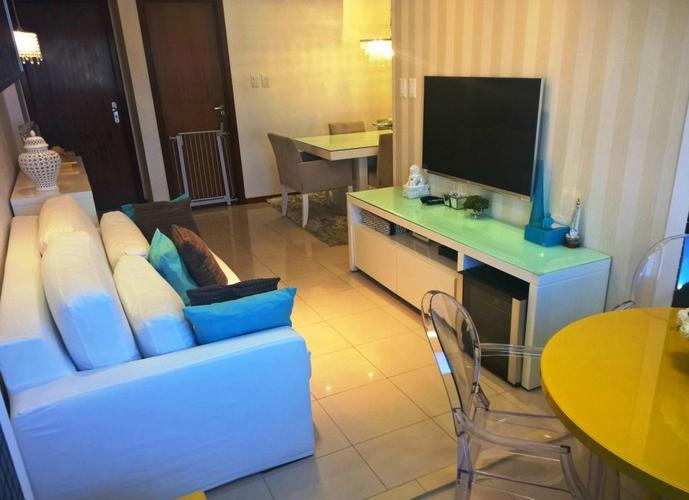 Apartamento no Stiep, 91m², 3/4, suíte, dependência, armários, split, 525mil.