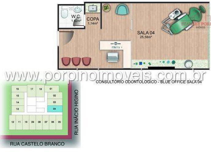 Sala para vender ou alugar na Praia da Costa