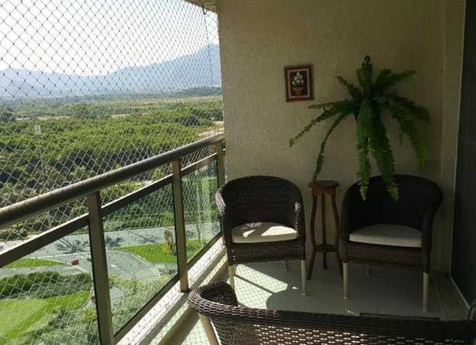 Apartamento Barra da Tijuca - Cidade jardim- 3qtos com 1 suite 113m²  Próximo Hospital Sara de Reabilitação e Parque Olímpico