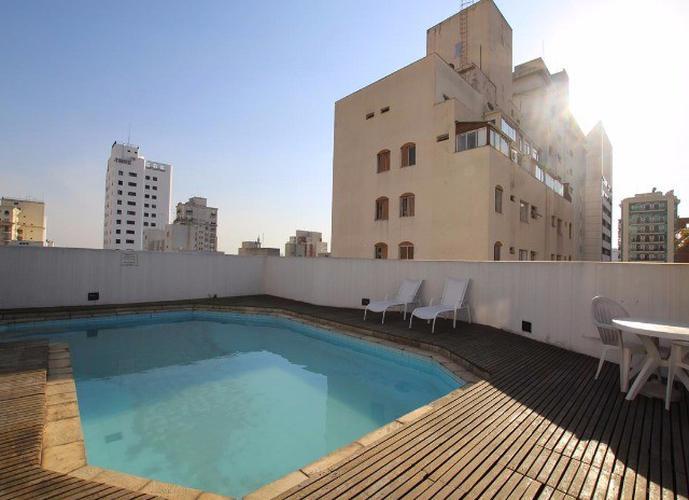 Flat em Jardins/SP de 60m² 2 quartos para locação R$ 3.400,00/mes