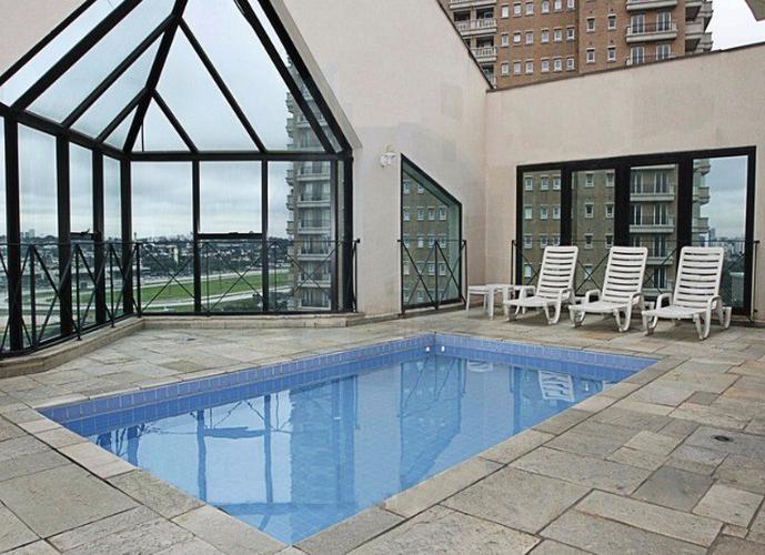 Flat em Pinheiros/SP de 35m² 1 quartos para locação R$ 3.900,00/mes