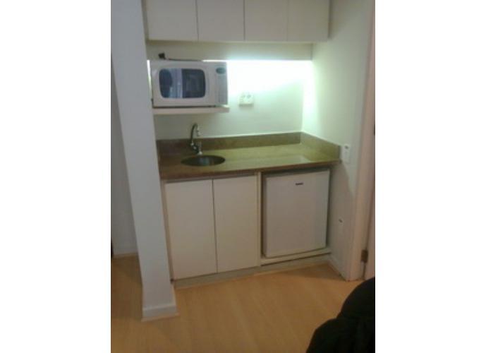 Flat em Itaim Bibi/SP de 35m² 1 quartos para locação R$ 3.400,00/mes