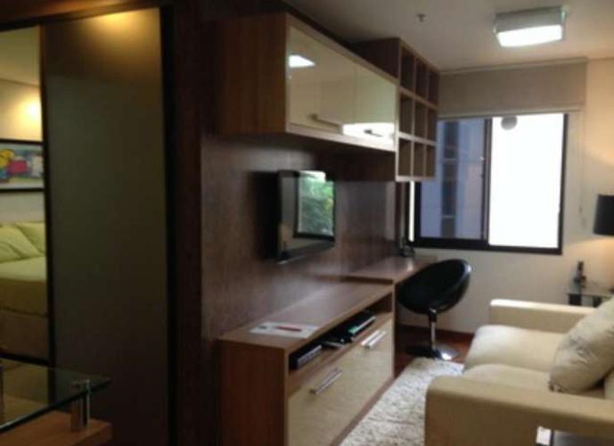 Flat em Moema/SP de 35m² 1 quartos para locação R$ 3.400,00/mes
