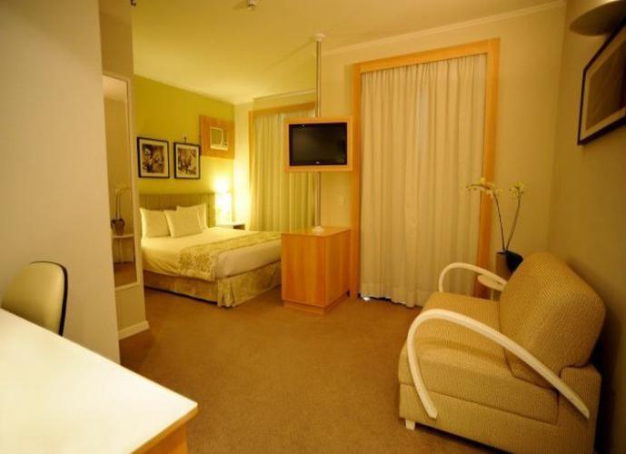 Flat para venda na Analia Franco, 1 dormitório, 1 vaga de garagem