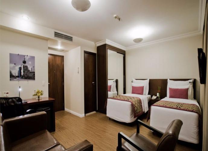 Flat para venda, 1 dormitório, 1 vaga de garagem no Itaim Bibi