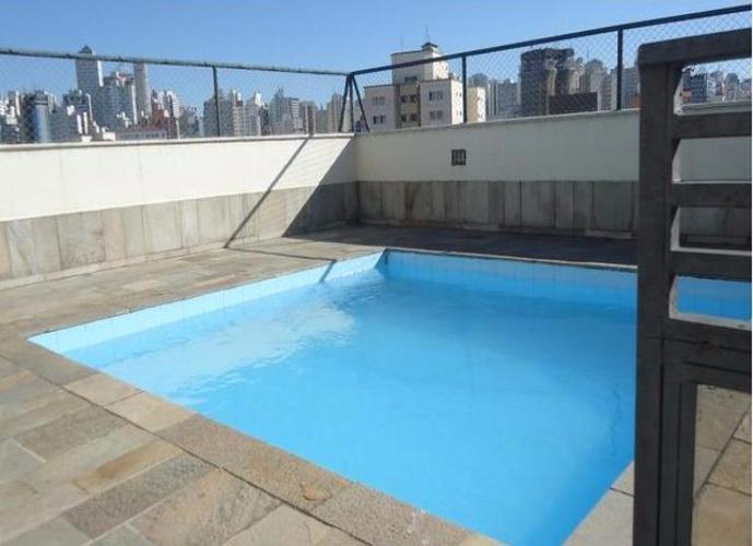 Flat em Bela Vista/SP de 30m² 1 quartos para locação R$ 125,00/dia
