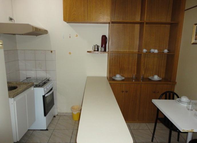 Flat em Paraiso/SP de 30m² 1 quartos para locação R$ 1.400,00/mes