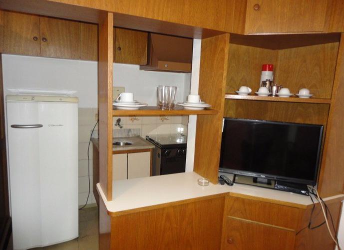 Flat em Paraiso/SP de 30m² 1 quartos para locação R$ 125,00/dia