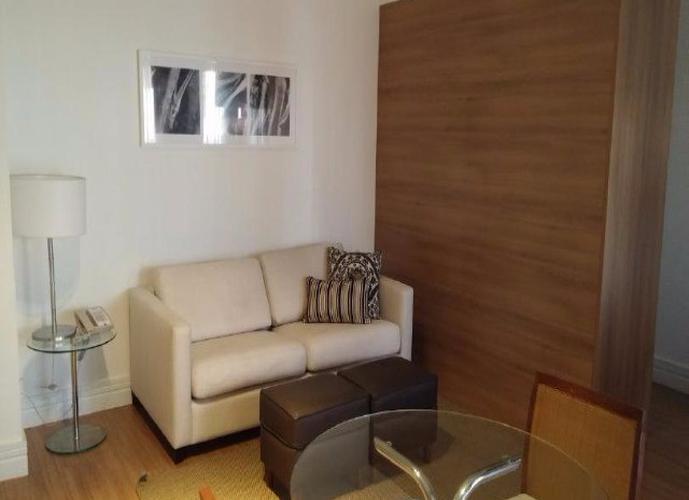 Flat em Itaim Bibi/SP de 42m² 1 quartos a venda por R$ 530.000,00