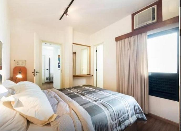 Flat em Itaim Bibi/SP de 45m² 1 quartos para locação R$ 5.500,00/mes