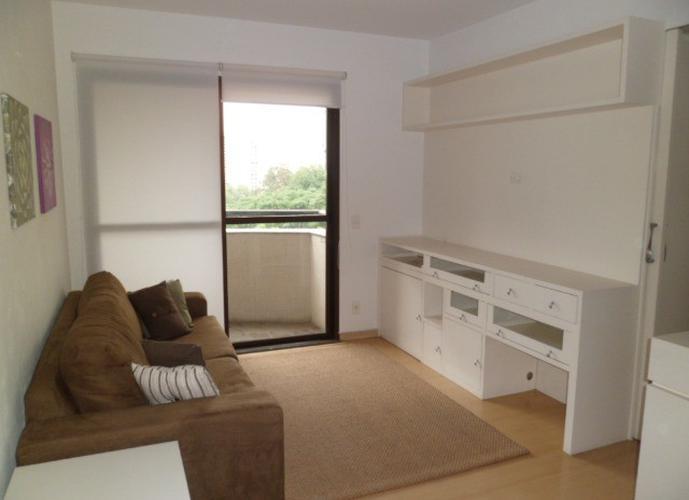 Flat em Morumbi/SP de 34m² 1 quartos para locação R$ 1.300,00/mes