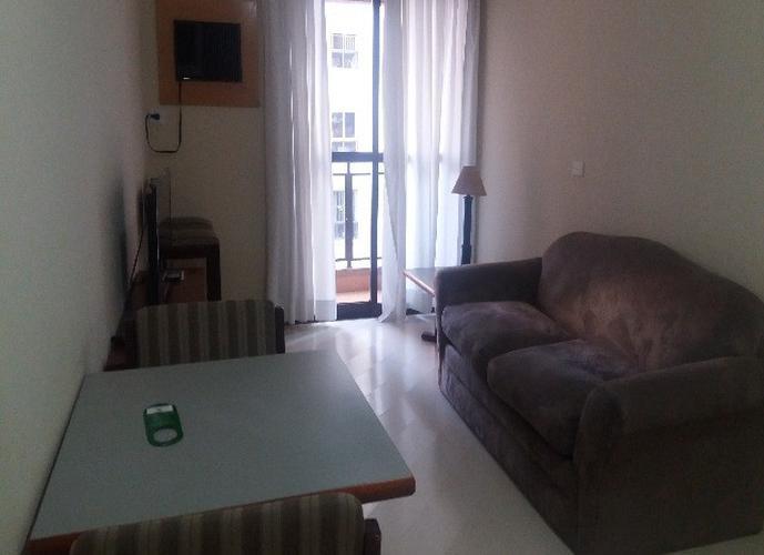Flats para locação no bairro Jardins de 1 dormitório e 1 vaga