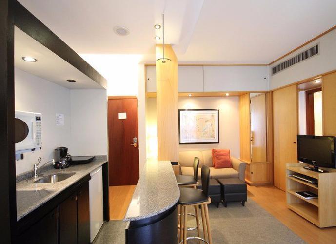 Flat em Itaim Bibi/SP de 40m² 1 quartos para locação R$ 3.900,00/mes