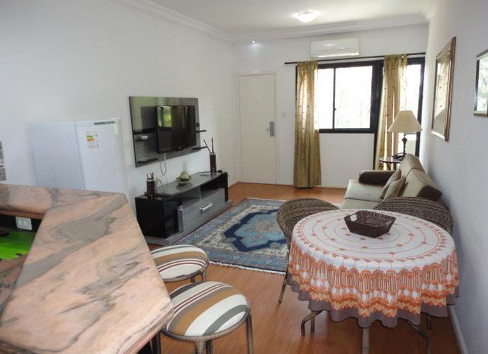 Flats para locação no bairro Aphaville, 1 dormitório, 1 vaga