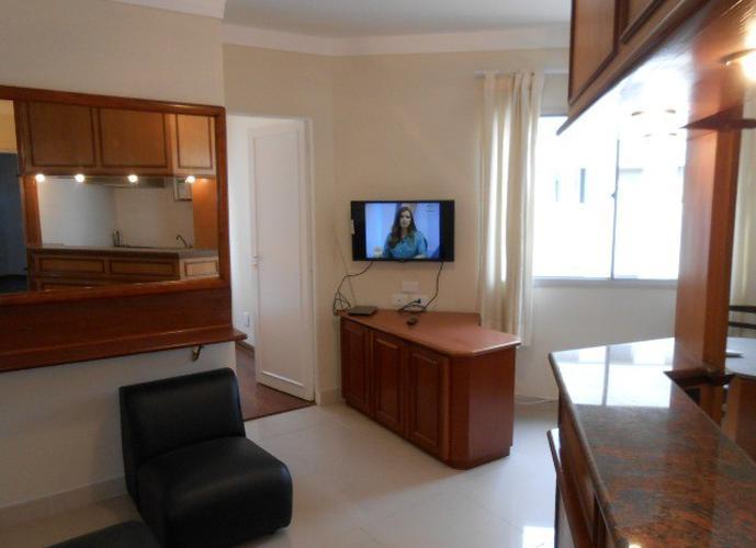 Flat em Pinheiros/SP de 30m² 1 quartos para locação R$ 2.100,00/mes