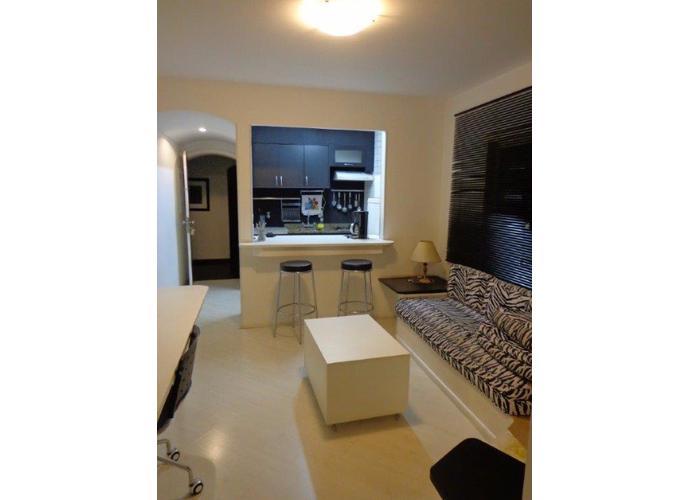 Flat em Jardins/SP de 45m² 1 quartos para locação R$ 2.900,00/mes