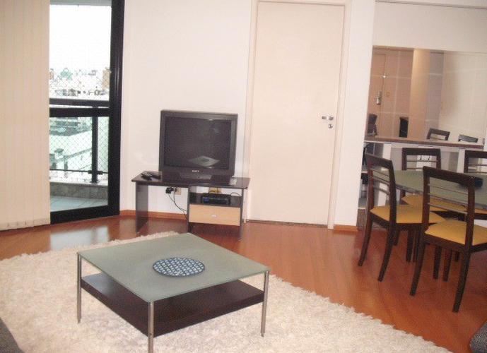 Flat em Paraíso/SP de 100m² 3 quartos para locação R$ 7.300,00/mes