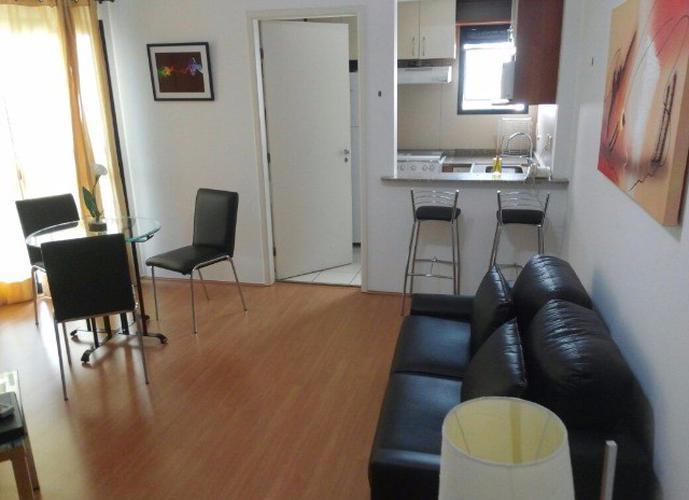 Flat em Paraíso/SP de 60m² 2 quartos para locação R$ 5.300,00/mes