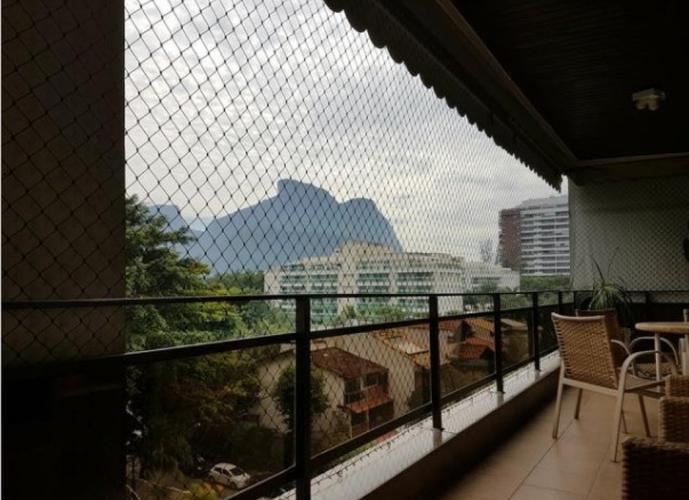 Apartamento em Barra da Tijuca/RJ de 158m² 4 quartos para locação R$ 5.500,00/mes