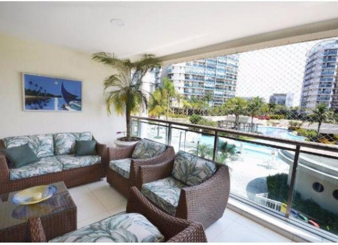 Apartamento em Barra da Tijuca/RJ de 237m² 4 quartos para locação R$ 8.500,00/mes