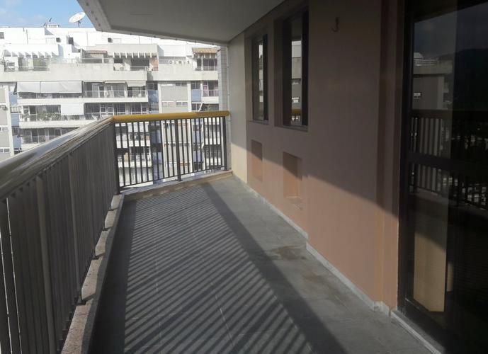 Apartamento em Barra da Tijuca/RJ de 125m² 3 quartos para locação R$ 3.000,00/mes