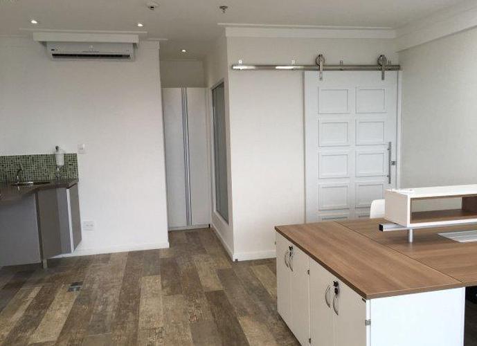 Sala em Vila Matias/SP de 47m² para locação R$ 2.700,00/mes