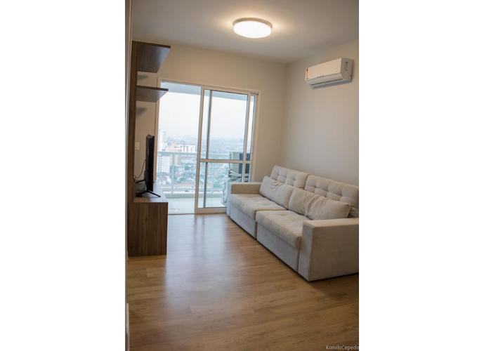 Lindo Apartamento no Emirado - 1 Dormitório Apartamento residencial para venda e locação, Boqueirão, Santos.