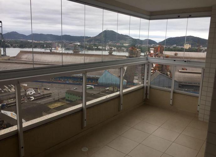 Apartamento em Ponta Da Praia/SP de 93m² 3 quartos para locação R$ 2.900,00/mes