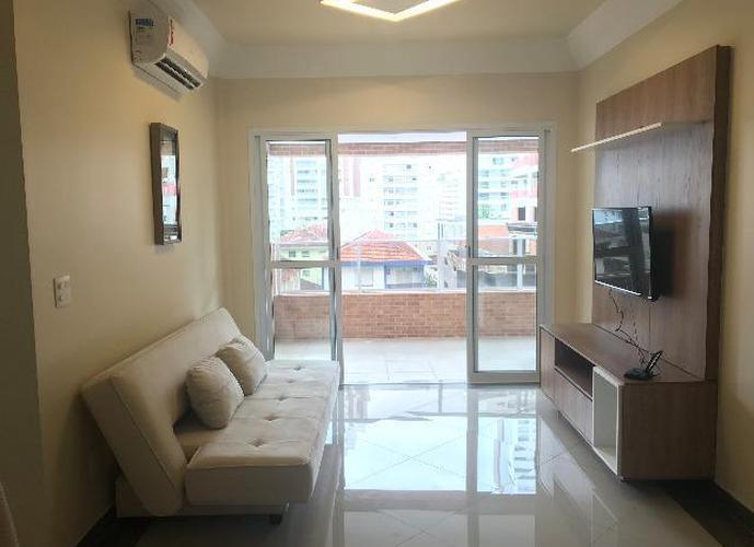 Apartamento 60 m², 1 dormitório, primeira locação - Santos - SP