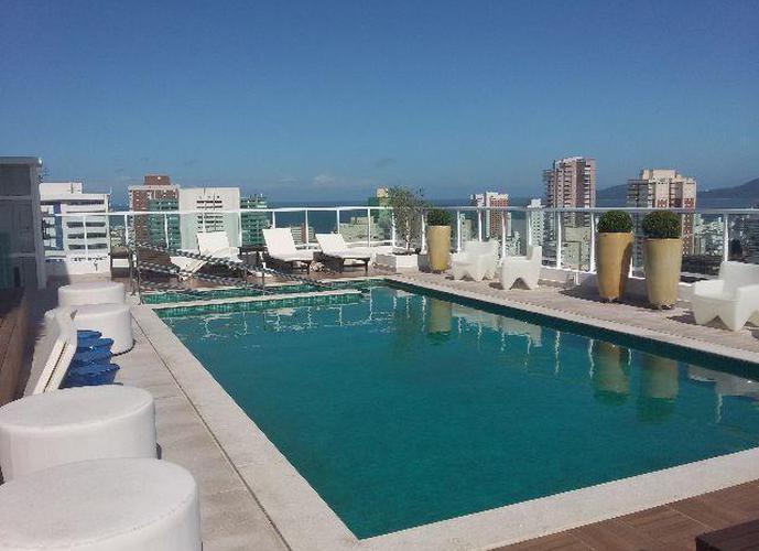 Flat em Boqueirão/SP de 50m² 1 quartos para locação R$ 4.700,00/mes