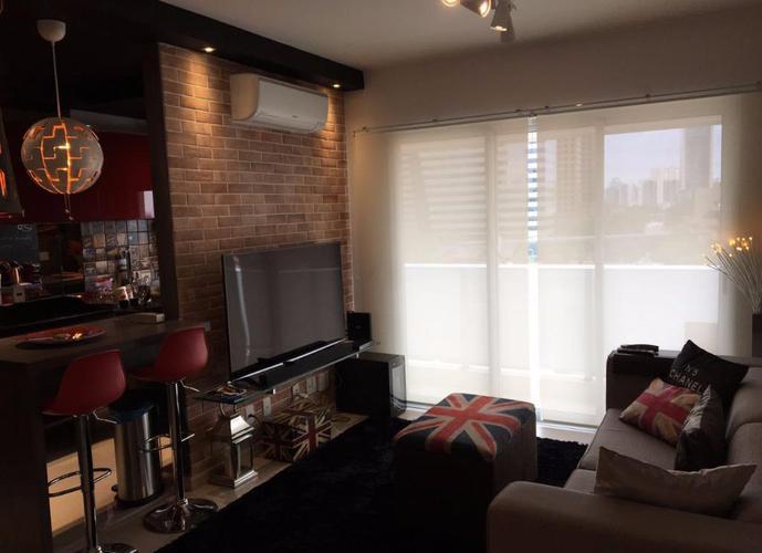 Apartamento em Santo Amaro/SP de 50m² 1 quartos a venda por R$ 690.000,00 ou para locação R$ 4.880,00/mes