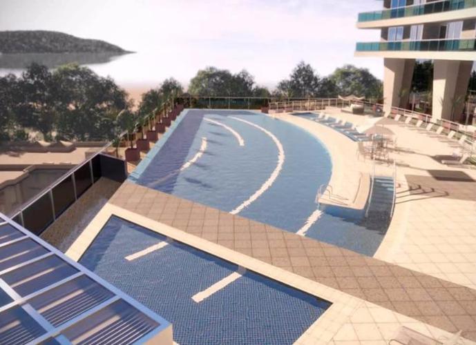 Oportunidade Maior Studio do  Unlimited Ocean Front! Studio, 1, 2 ou 3 Dormitórios - Entre Canal 1 e 2 Santos SP
